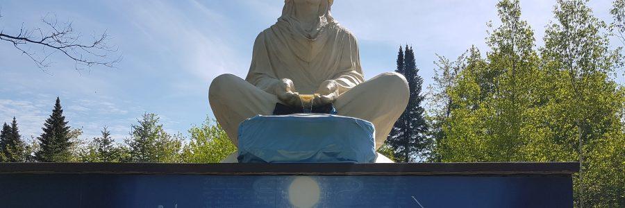 Estatua del Arcangel Gabriel